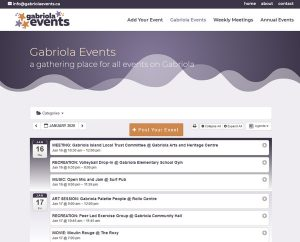 Thumbnail image for Gabriola Events